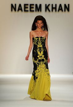 Black and yellow...love the print