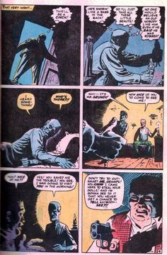 """Journey Into Mystery """"The Gentle Old Man! Comic Book Panels, Steve Ditko, Stan Lee, Comic Art, Tatting, Script, Mystery, Journey, Characters"""