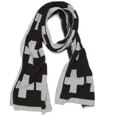 Swiss Cross Scarf