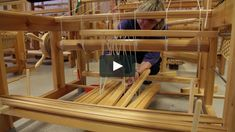 """This is """"ATT SÄTTA UPP EN VÄV Trampuppknytning"""" by Karin Wallin on Vimeo, the home for high quality videos and the people who love them. Swedish Weaving, Loom Weaving, Woodworking Tools, Flooring, Crafts, Home, Paracord, Living Rooms, Textiles"""