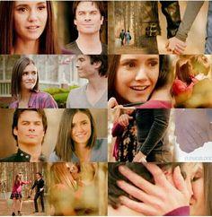Damon and Elena reunion