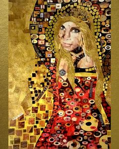 Order your portrait in the style of Gustav Klimt Poster by Irina Bast. All posters are professionally printed, packaged, and shipped within 3 - 4 business days. Choose from multiple sizes and hundreds of frame and mat options. Gustav Klimt, Klimt Art, Surrealism Painting, All Poster, Posters, Portrait Art, Portraits, Surreal Art, Mixed Media Art