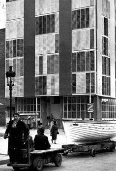 Edificio Coderch, Barcelona 1951. Francesc Català-Roca