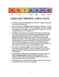 Aura facts! Aura Reading, Radiant Energy, Aura Colors, Chakra Meditation, Meditation Music, Mind Body Spirit, Psychic Abilities, Spiritual Awakening, Inner Peace