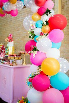 Babushka Doll Inspired Birthday Party