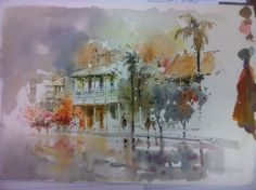 Helen Goldsmith will be running a watercolour workshop focusing on Street Scene techniques at #Sawtell Art Group, 9- 10 August 2014 http://artsmidnorthcoast.com/helen-goldsmith-watercolour-workshop/