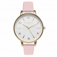 White Dial Dusty Pink + Gold