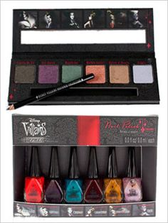 Disney Villains Makeup Line @seventeen   smallworldBIGFUN.com  #Disney
