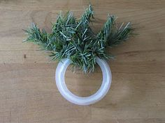 Sew Many Ways.Mini Christmas Wreath great up cycling the plastic rings from jar candle tops! Christmas Candle Rings, Great Christmas Gifts, Christmas Time, Christmas Wreaths, Christmas Decorations, Christmas Ornaments, Christmas Stuff, Country Christmas, Wreath Crafts