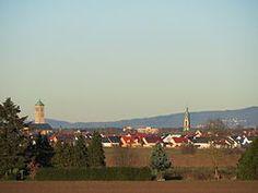 Hockenheim Paris Skyline, Germany, Travel, Asylum, Voyage, Viajes, Traveling, Deutsch, Trips