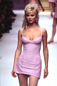 Herve Leger - Ready-to-Wear - Runway Collection - Women Spring / Summer 1996