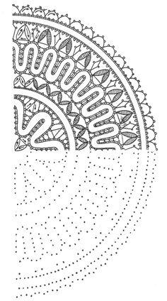 """Книга: """"Старинные секреты плетения кружев"""" (глава 4.4, конец)"""