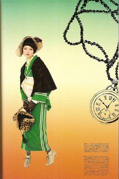 Kimono-hime issue 10. Fashion shoot page 10. by Satomi Grim, via Flickr