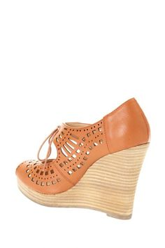 Restricted  Restricted Mindy Peep Toe Wedge