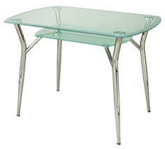 Our A6C glass top designer table