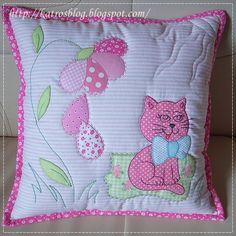 Лоскутные и с вышивкой подушки и одеяла ...handmade by Katroš... Обсуждение на…