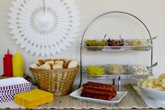 Tips for hosting a Game Day party with a Hot Dog Bar. #tailgating #homegating