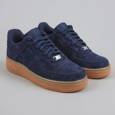 quality design b2e04 078b1 Nike Air Force 1  07 Suede - Midnight Navy