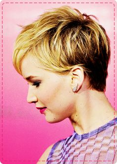 How to style your pixie cut like Jennifer Lawrence