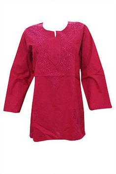 BOHO-INDIAN-ETHNIC-TUNIC-PINK-EMBROIDERED-COTTON-BLOUSE-KURTA-KURTI-FOR-WOMEN-M    http://stores.ebay.com/mogulgallery/Embroidered-Tunics-/_i.html?rt=nc&_fsub=901934419&_sid=3781319&_trksid=p4634.c0.m14.l1581&_pgn=2