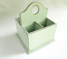 Hey, I found this really awesome Etsy listing at http://www.etsy.com/listing/165736426/mint-green-wooden-cutlery-flatware