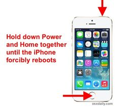 Battery life issues with iOS 7.0.6? Force reboot the iPhone to fix it quickly