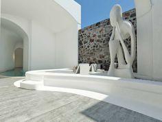 Nefeles Resort SantoriniSantorini2017 - 2019PrivateBuilt340 m2 Hotel Architecture, Santorini, Bathroom Lighting, Greece, Interior Design, Mirror, Building, Home Decor, Greek House