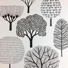 """""""Mi piace"""": 1,896, commenti: 13 - Eloise Renouf (@eloiserenouf) su Instagram: """"Shipping one of my large, 50 x 70cm, poster-size screen prints today. . . . . #trees #print…"""""""