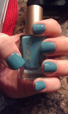 """""""now you sea me"""" loreal nail polish"""