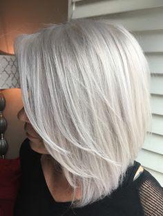 125 icy white platinum hair (color ideas and tips) Hair And Makeup Tips, Hair Makeup, Platinum Hair Color, Silver Blonde Hair, Corte Bob, Hair Highlights, Hair Inspiration, Short Hair Styles, Hair Cuts
