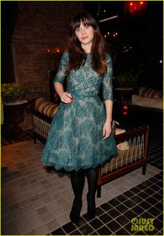 Zooey Deschanel: 'Glamour' Cover Girl Celebration! | zooey deschanel glamour cover girl celebration 01 - Photo Gallery | Just Jared