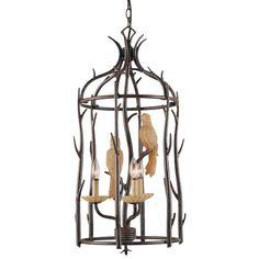 Aviary Cage Light.  #onekingslane and #designisneverdone