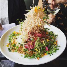 32 Bucketlist Foods Every True Torontonian Needs To Try - Narcity Ontario Travel, Toronto, Cabbage, Yummy Food, Foods, Vegetables, Screen Shot, Boston, Restaurants