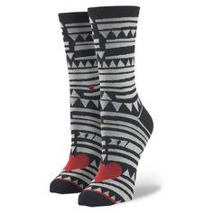 Stance | Sharkey Black, Red, Gray socks | Buy at the Official website Stance.com.