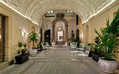 Inspiring boutique hotel located in the heart of Val di Noto in Italy designed by Vemworks. Top Hotels, Hotels And Resorts, Best Hotels, Small Hotels, Amazing Hotels, Luxury Resorts, Hotel Ads, Great Hotel, Travel And Leisure
