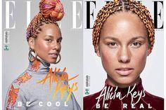 Alicia Keys No Makeup, Free Makeup, Crochet Earrings, Singer, Celebrities, How To Wear, Beauty, Jewelry, Fashion