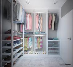 Wardrobe - Garderoba; interior design, architect Marcin Śliwiński Poland;  https://www.facebook.com/architectmarcinsliwinski?fref=ts