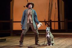 There aren't many Shakespearean plays where a can dog steal the show, in fact there's only one: The Two Gentlemen of Verona. Theatre Stage, Theater, Elizabethan Theatre, Mark Morgan, University Of Washington, Verona, Gentleman, Two By Two, Teatro