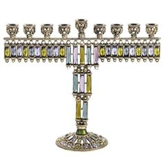 Olivia Riegel Rachel Jeweled Menorah from Chelsea Gifts
