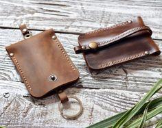Leather Key Holder Leather Key Case. от 22THEPORTALL на Etsy