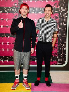 Josh Dun & Tyler Joseph of Twenty One Pilots