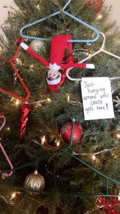 100 Hilarious Elf on the shelf ideas to cherish the sweet Smile on your Kid's Face - Hike n Dip Looking for funny and hilarious elf on the shelf ideas that would get you through the Christmas month? Then have a look at these elf on the shelf ideas. Noel Christmas, Christmas Elf, Christmas Crafts, Christmas Decorations, Woody Und Buzz, Awesome Elf On The Shelf Ideas, Elf On The Shelf Ideas For Toddlers, Elf Auf Dem Regal, Elf Magic
