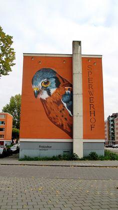 Wall paints, Muurschilderingen, Peintures Murales,Trompe-l'oeil, Graffiti, Murals, Street art.: Capelle a/d IJssel - Netherlands