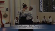 This is how Evolutionary Aikido from Patrick Cassidy looks like. If this video is not enough for you - hop in the post on the blog: