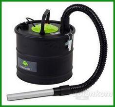 8a)ODKURZACZ  POPIOŁU 15 litrów HEPA 1200W