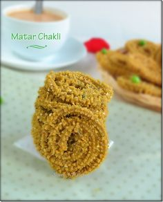 Wheat Flour Peas / Matar Chakli –Easy Chakli Recipe