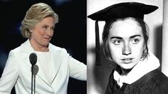 When Hillary Clinton embraces her inner nerd she winsClinton at her acceptance speech Thursday night and as a Wellesley College senior in 1969  Image: LEFT: alex wong/getty images RIGHT: John M. Hurley/The Boston Globe via Getty Images  By Chris Taylor2016-07-29 21:47:09 UTC  Hillary Clintons acceptance speech at the Democratic National Convention Thursday night was an historic occasion and a once-in-a-lifetime opportunity. Here was Americas first female Presidential nominee accepting her…