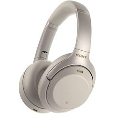 Please note: These units are International Version meaning they will NOT come with the USA Sony Warranty. These units are Brand New Sealed. Sony industry-leading noise cancellation evolves to further immerse you in your music. The addition of Sony proprietary HD noise canceling processor Qn1 masterfully eliminates the noise around you. Listen all day with up to 30 hours of battery life. Quick charging gives five hours of playback with just a 10-minute charge. Cord Length: Headphone cable (approx Wireless Noise Cancelling Headphones, Best Headphones, Over Ear Headphones, Microsoft Surface, Super Nintendo, Casque Audio Sony, Ipod, Give Five, Gold For Sale