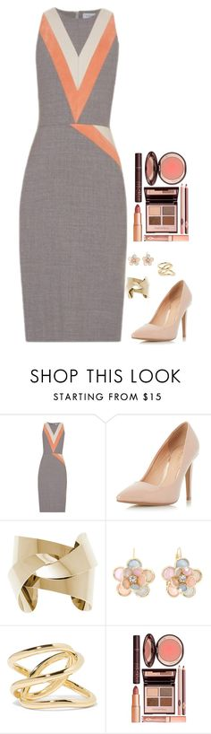 """""""Untitled #519"""" by h1234l on Polyvore featuring Altuzarra, Dorothy Perkins, Mixit, Jennifer Fisher, Charlotte Tilbury, women's clothing, women, female, woman and misses"""
