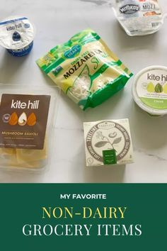 My favorite Non-Dairy Grocery Items #dairyfree #nondairy #healthyeating #healthyfoods - Onlygirl4boyz